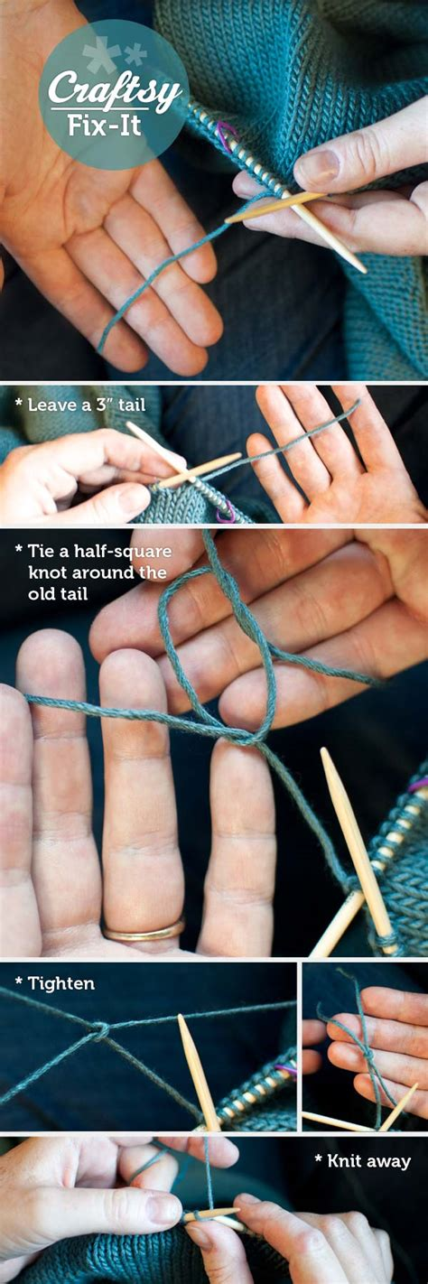 adding yarn when knitting how to join yarn 1 simple trick with craftsy s stefanie japel