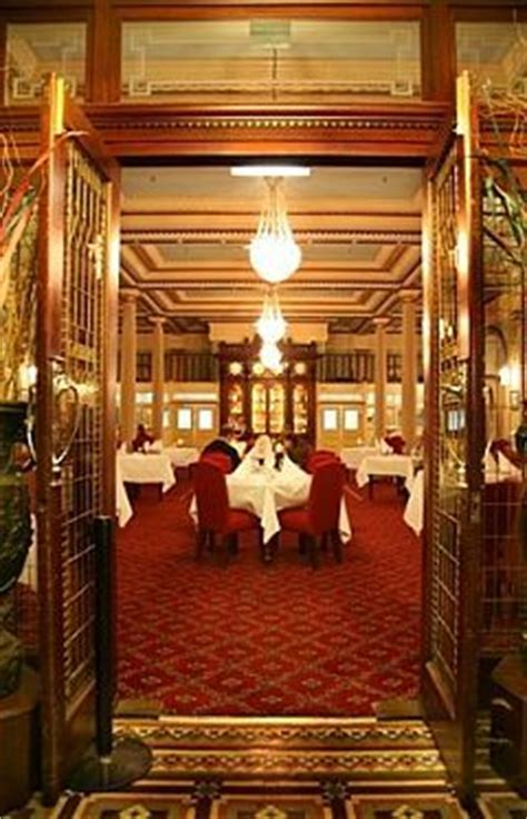 The Grand Dining Room by In July In The Blue Mountains Sydney