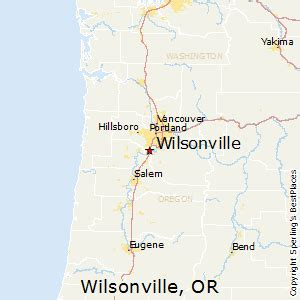 best places to live in wilsonville oregon