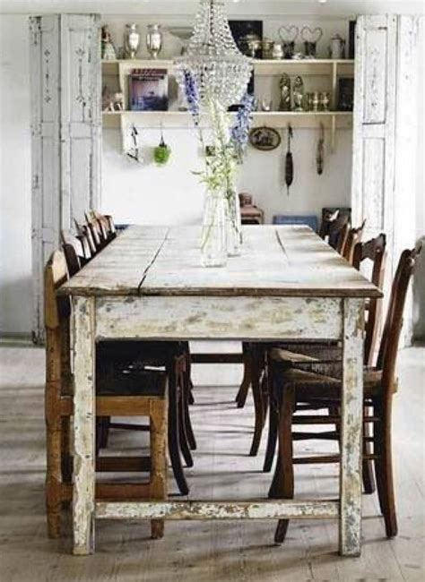 Rustic Country Kitchen Table Country Country Farmhouse And Table And Chairs On