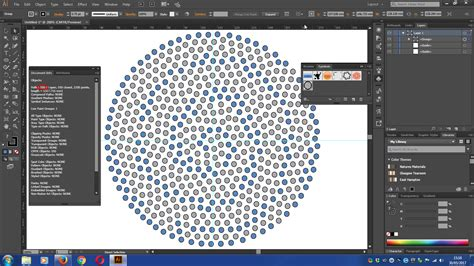 illustrator pattern array adobe illustrator how to create an array of circles