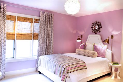Lavender And Yellow Bedroom by Lavender Paint Color Design Ideas