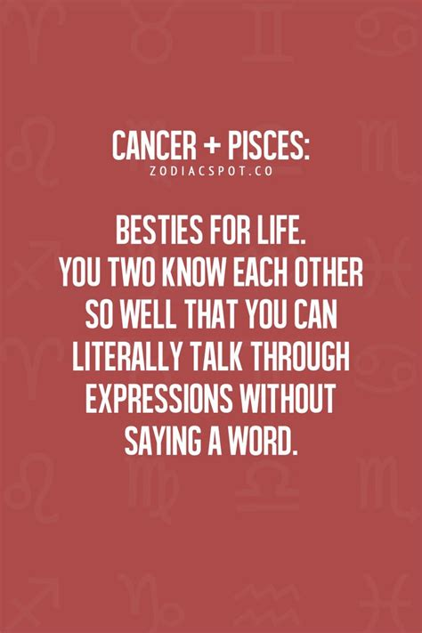 cancer pisces besties for life my dad was a pisces