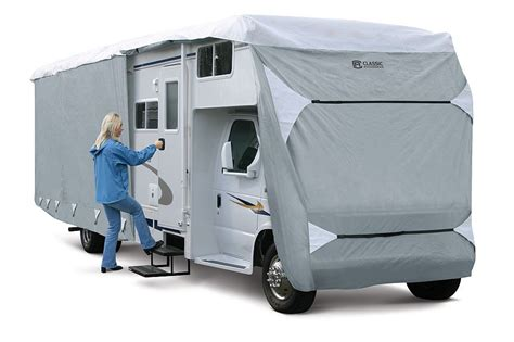rv slipcovers polypro iii class c rv covers fits 20ft 23ftl 79263