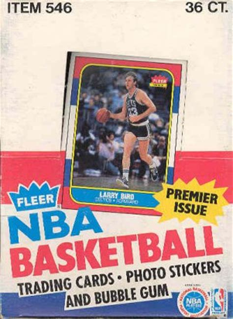 86 87 Fleer Basketball Card Template Photoshop by How To Series Tell If An 86 87 Fleer Basketball Box Is