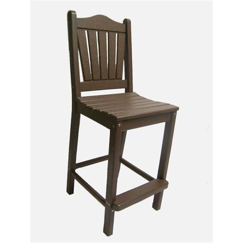 Traditional Bar Height Dining Chair Dfohome Standard Height Of Dining Chair