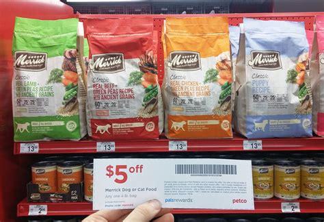merrick food petco 5 00 savings on merrick food at petco