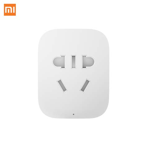 Xiaomi Smart Socket With Wifi Wireless Remote original xiaomi smart socket bacic wifi wireless remote eu us au socket adaptor power on