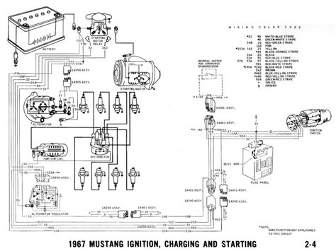 1967 ford mustang alternator regulator wiring wiring forums