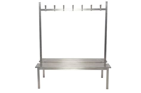 changing benches stainless steel duo island changing room bench benchura