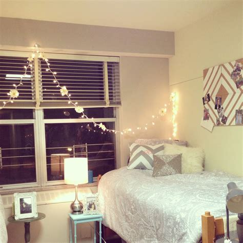 Cute Bedroom Ideas by Bedroom Dorm Dorm Room And Lights On Pinterest With Dorm