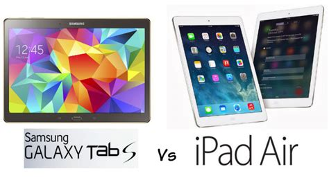 big w samsung tablet samsung galaxy tab s 10 5in vs apple air which tablet should you buy