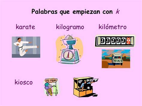 imagenes que comienzan con la letra k palabras con k con im 225 genes y dibujos para imprimir