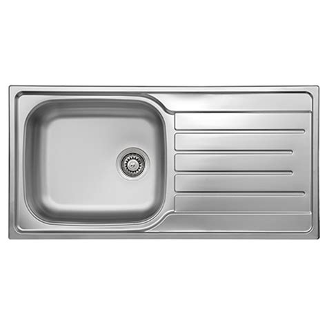 stainless steel kitchen sink moen kelsa 33in x 22in