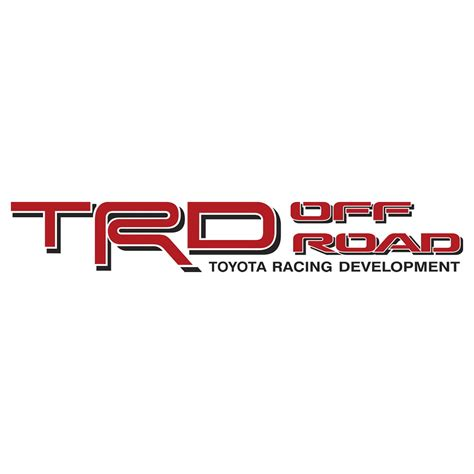 Toyota Road Decals Sr54x4 002 Trd Sr5 4x4 All Terrain Decals Decal County