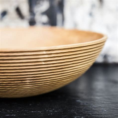 Handmade Wooden Salad Bowls - natura handmade wooden salad bowls 187 petagadget