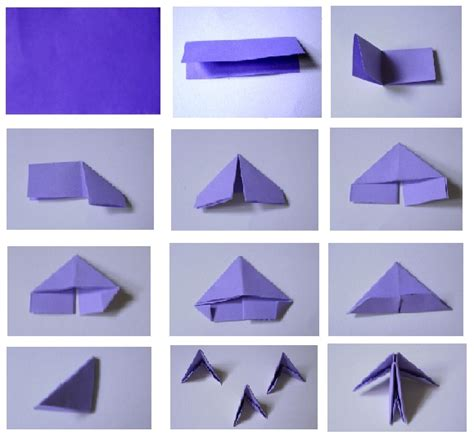 3d Triangle Origami - 3d image 3d origami for beginners