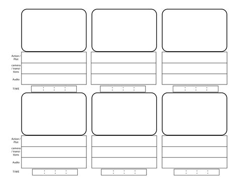 storyboard template pdf print www imgkid com the image