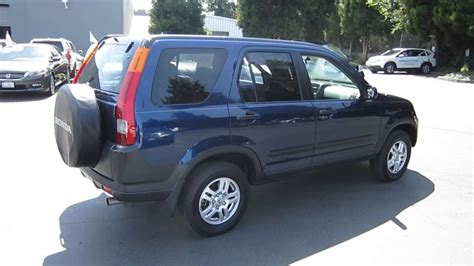 2004 Honda Crv by 2004 Honda Cr V Eternal Blue Pearl Stock 140940a
