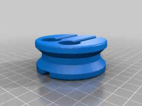 earbud holder by 123ddesign thingiverse