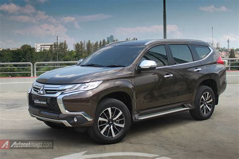 mitsubishi indonesia 2016 first impression review mitsubishi all new pajero sport