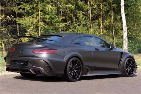 mansory mercedes mansory prepares 1000hp mercedes amg s63 coupe black