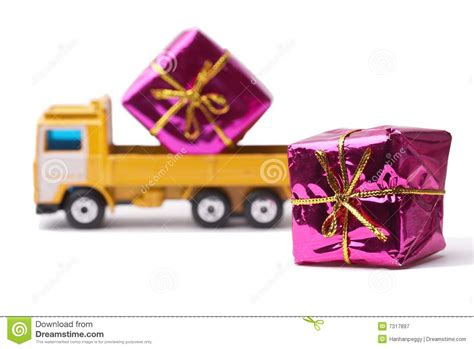 delivery gift royalty free stock photography image 7317897