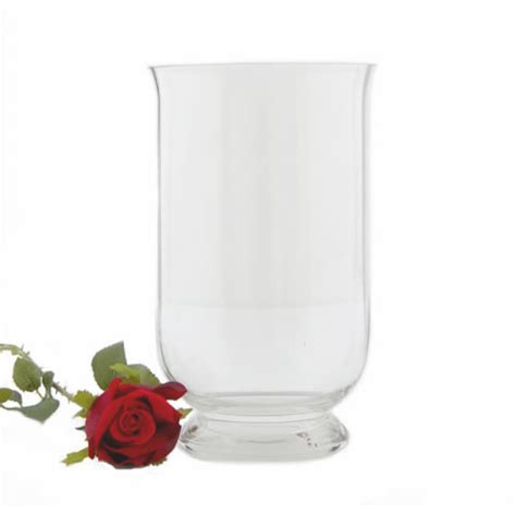 Footed Glass Vase by 403 Forbidden