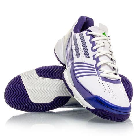 adidas adizero feather womens tennis shoes white