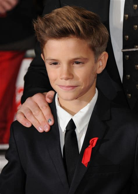 boys age 12 hairstyles romeo beckham photos photos the class of 92 premieres