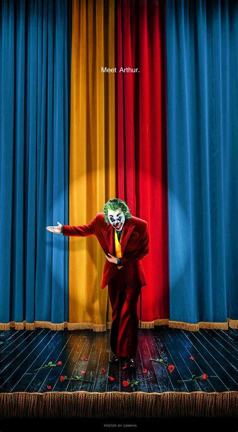 joker  fan poster  camwn  deviantart