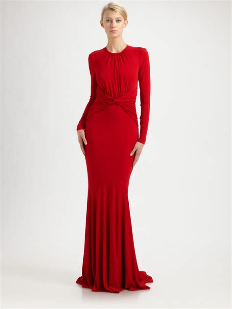 Roy Dresses For Goddesses by Michael Kors Jersey Goddess Gown In Lyst
