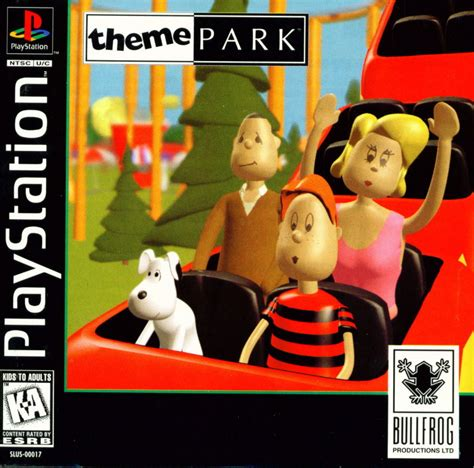 theme park ps1 theme park for playstation 1995 mobygames