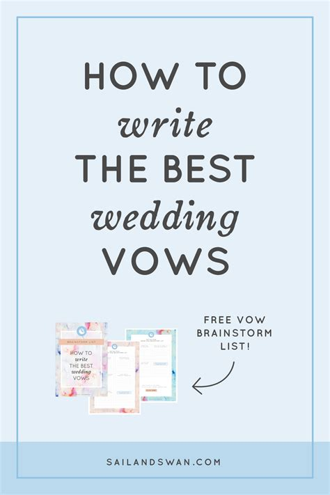 vow writing template sle personal wedding vows wedding gallery