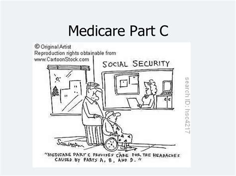part c medicare introduction to health care finance ppt