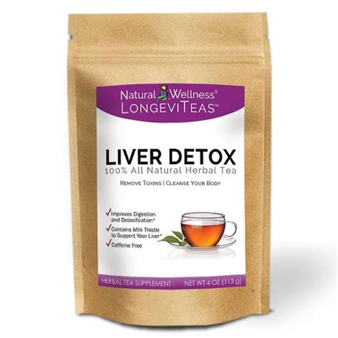 Detox The Liver With Tea by Organic Liver Detox Tea Wellness