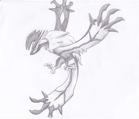 learn how to draw yveltal from pokemon pokemon step by yveltal by crystalitar on deviantart