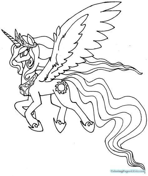 coloring page my little pony celestia coloring pages my little pony friendship is magic princess