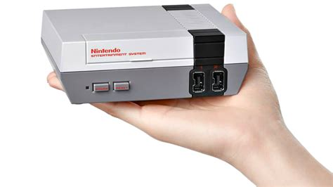new nes console nintendo unveils new console nes classic edition