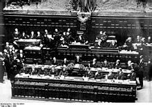 composizione consiglio dei ministri governo mussolini