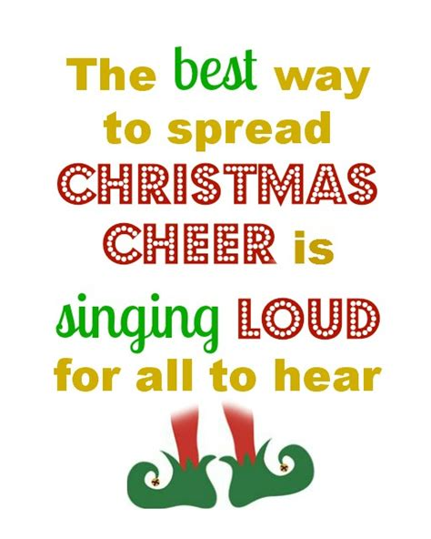 printable elf quotes christmas quotes elf quotesgram