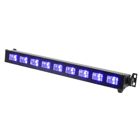 Stage Led Light Bar Qtx Uvb 9 50cm Ultraviolet Uv Blacklight Dj Band Stage Led Light Bar Brackets