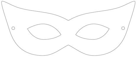 masquerade mask template mask cliparts co