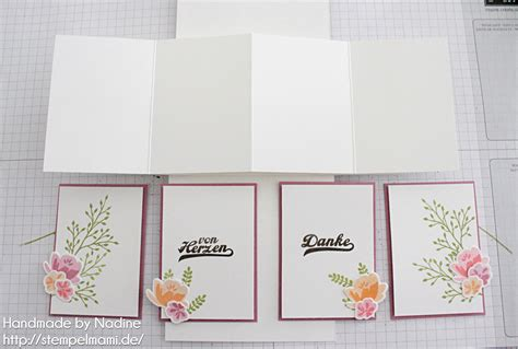 pop up panel card template stin up anleitung tutorial twist pop up panel karte