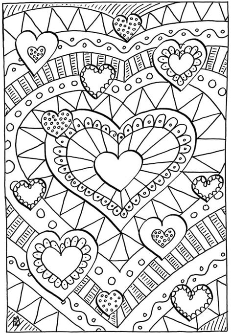 valentines pictures to color valentines coloring pages happiness is