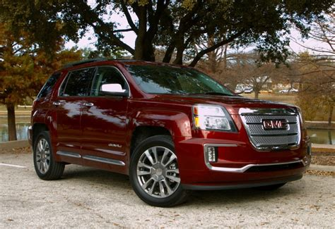 reviews on the gmc terrain 2016 gmc terrain denali test drive and review