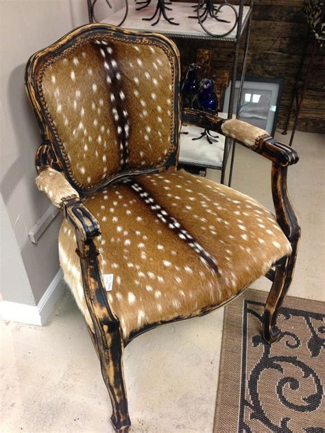 couch mounts deer chair 1 995 axis deer skin chair one of a kind