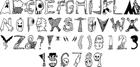font design horror 5 halloween fonts for creating scary designs