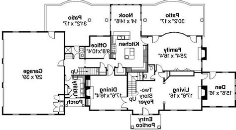 awesome one story house plans best one and a half story house plans arts with basement 3