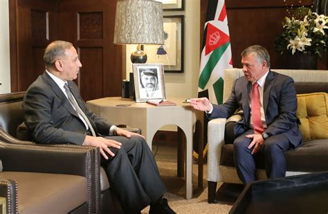 Banks Receives Royal From King by His Majesty King Abdullah Ii Receives The Iraqi Minister